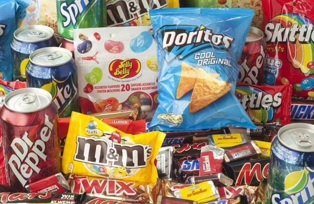 Trying to fill the void - junk food